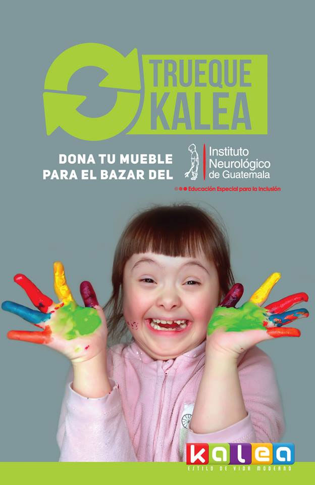 Trueque Kalea, a beneficio del Instituto Neurológico