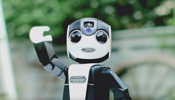 Sale a la venta el primer teléfono móvil robot del mundo