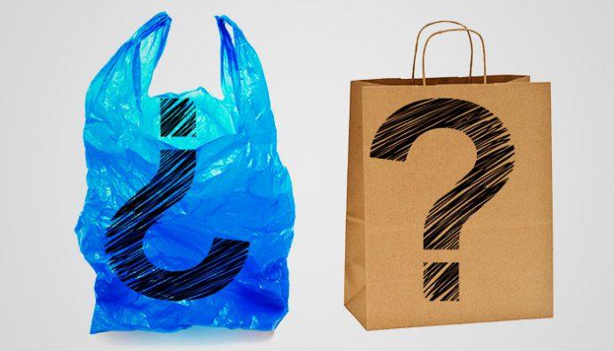 Qu es mejor bolsas de pl stico o bolsas de papel for Mejor pegamento para plastico