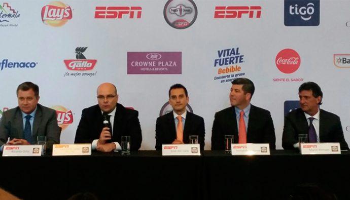 espn presenta en guatemala su programa fuera de juego