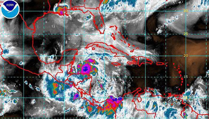 Tormenta tropical Earl tocará algunos departamentos de Guatemala