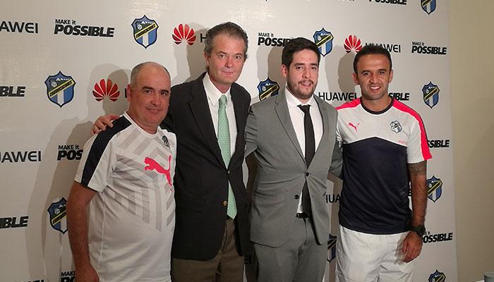 Comunicaciones FC es el primer embajador de Huawei en Guatemala