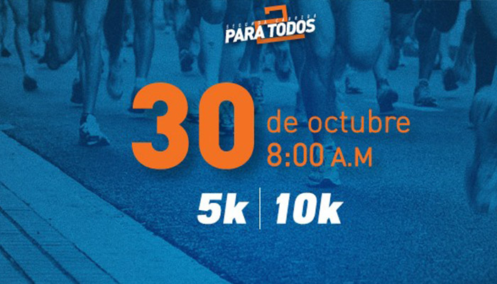 Segunda Carrera para todos será el 30 de octubre 2016