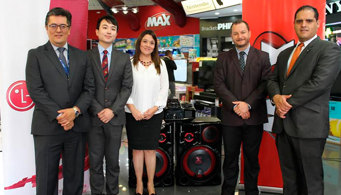 LG Electronics y Tiendas MAX crean promoción especial para los DJ's