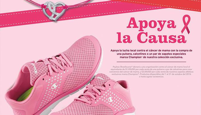 "Payless ShoeSource lanza su campaña ""Apoya la Causa"""