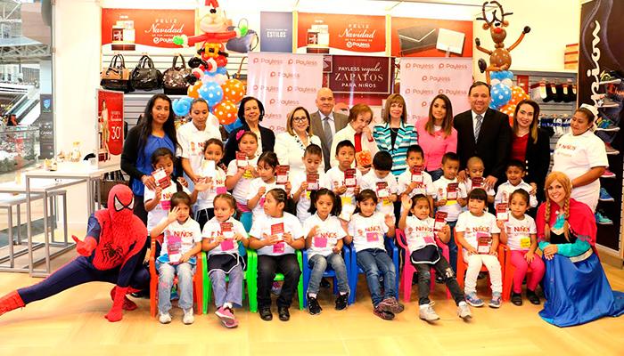Payless Shoesource regaló 400 pares de zapatos a niños guatemaltecos