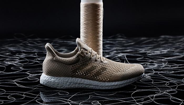 Adidas lanzó una nueva línea de zapatos biodegradables