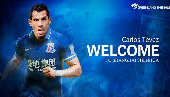 Carlos Tévez jugará en China y ganará más dinero que Messi y Ronaldo