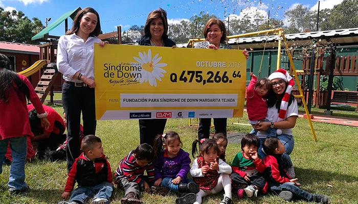 La Fundación para Síndrome de Down Margarita Tejada recibe fondos recaudados