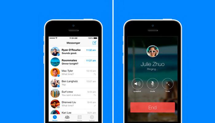Facebook ahora permitirá realizar llamadas de voz en grupo
