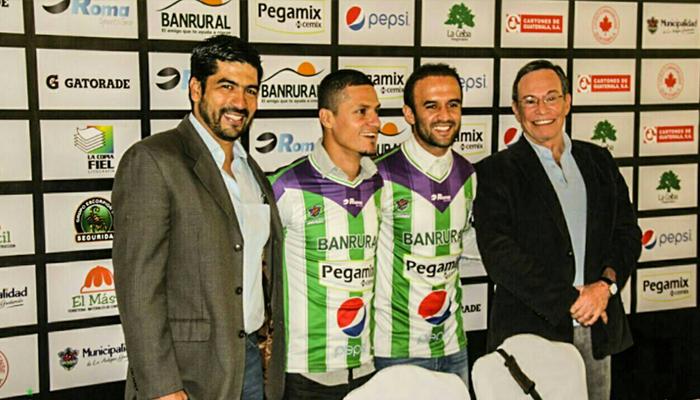 Antigua GFC confirma la contratación de José Contreras y Jairo Arreola