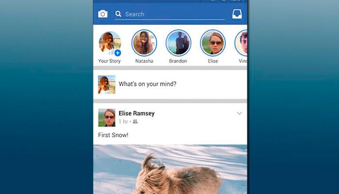 """""""Facebook Stories"""" llegará muy pronto a la versión móvil de la red social"""