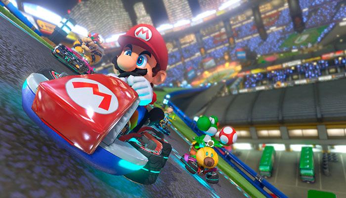 Filtran detalles del juego Mario Kart 8 para Nintendo Switch