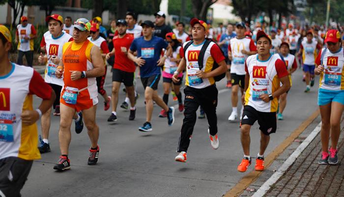 McDonald's realiza con éxito su IV Carrera Familiar