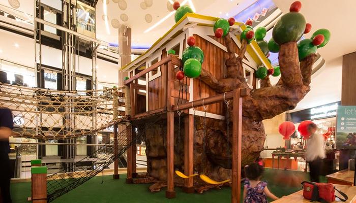 "Oakland Mall inauguró su nueva amenidad ""TreeHouse"""