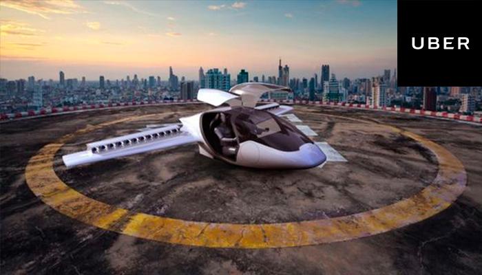 UBER trabaja en un proyecto para desarrollar autos voladores