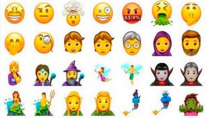 69 nuevos emojis llegarán a WhatsApp en junio 2017