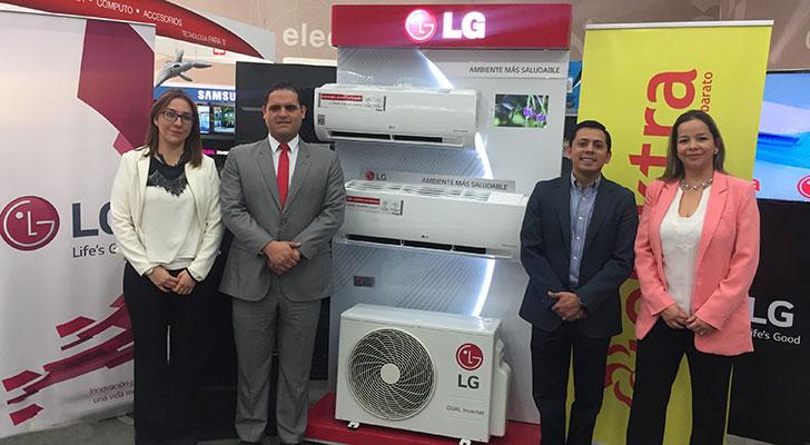 LG y Elektra presentan novedosos Aires Acondicionados para verano
