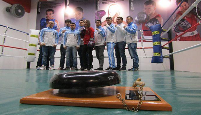 """Lanzamiento de """"Micheo Boxing Club"""" en Guatemala"""