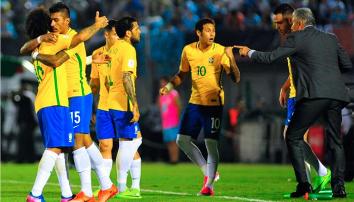Brasil ya tiene un pie adentro del