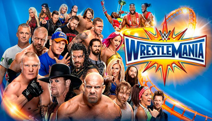 Luchas pactadas para el evento Wrestlemania 33 de la WWE