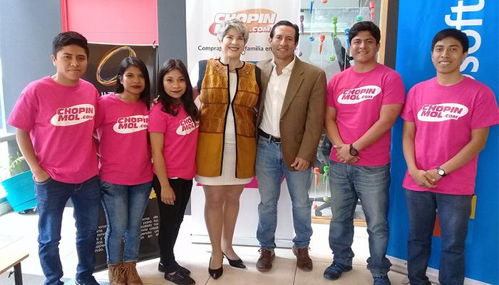 Lanzamiento de tienda virtual que apoya a los migrantes