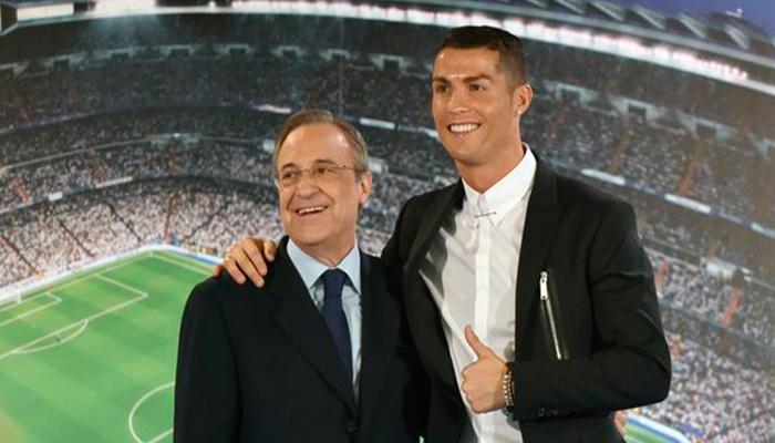 Cristiano Ronaldo le pide a Florentino Pérez la incorporación de un joven delantero