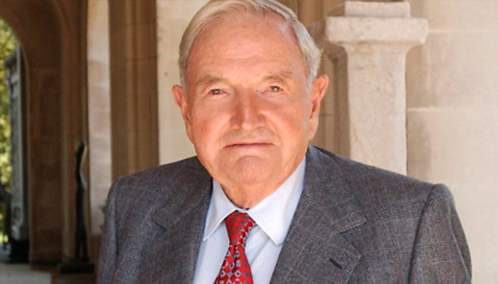 Fallece el multimillonario David Rockefeller