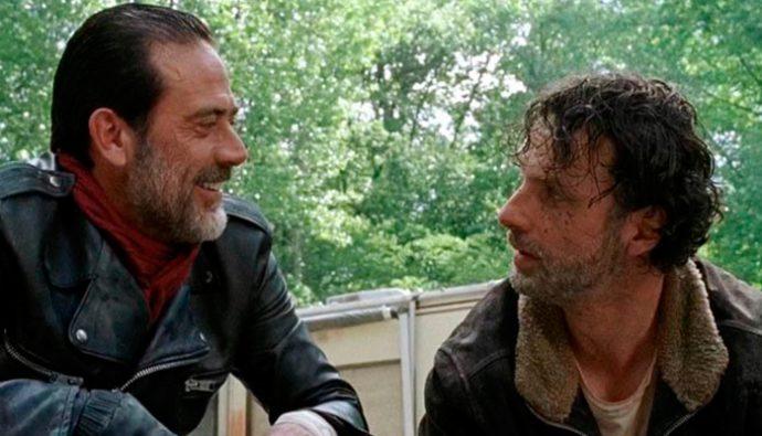 "Final de la séptima temporada de ""The Walking Dead"""