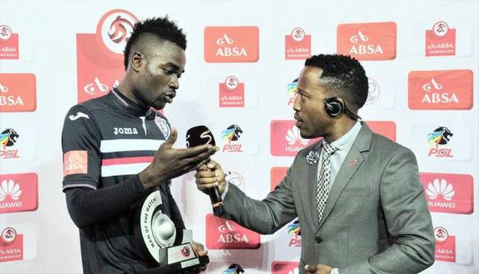 Video: Jugador africano le dedica premio a su esposa y a su