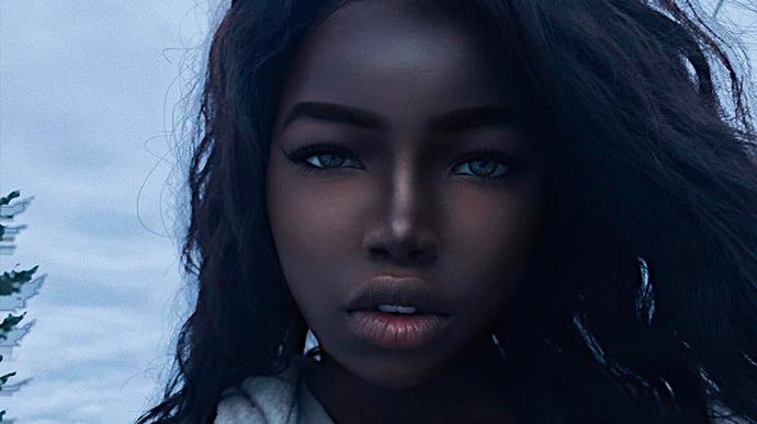 Chica conquista las redes sociales por su particular belleza