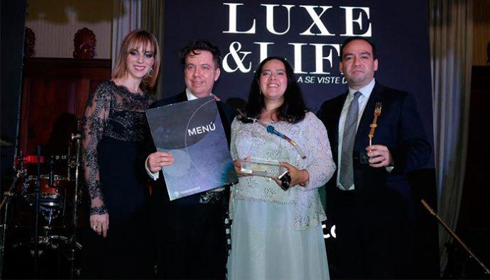 """Mastercard premió el """"Tenedor de Lujo"""" en Luxe & Life 2017"""