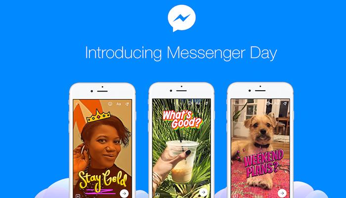 """Las """"Stories"""" han llegado a la aplicación de Facebook Messenger"""