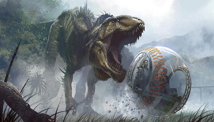 "Director muestra la primera imagen de la película ""Jurassic World 2"""