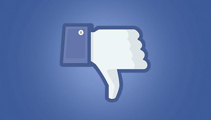 """Facebook busca implementar la opción de """"No Me Gusta"""""""