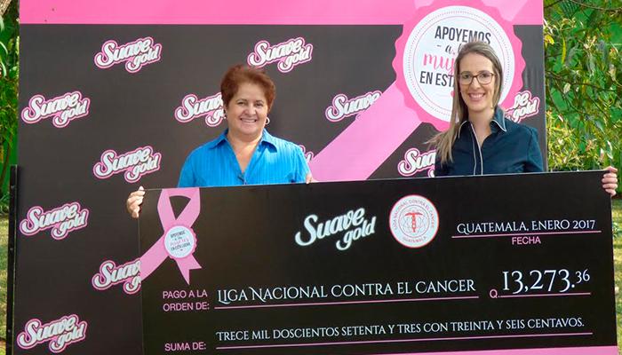 PAINSA entrega donativo a La Liga Nacional Contra el Cáncer