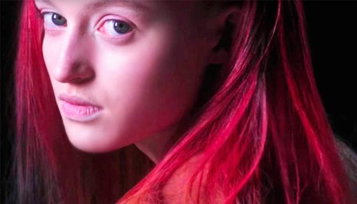 Tinte de cabello que cambia de color con la temperatura