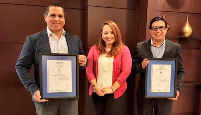 Ecotermo recibe certificación ISO 9001-2015