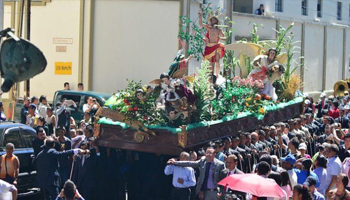 Itinerario procesiones Domingo de Resurrección