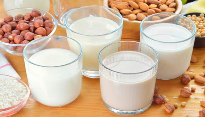 6 alternativas que pueden sustituir la leche de vaca