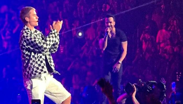 Video: Justin Bieber y Luis Fonsi cantan