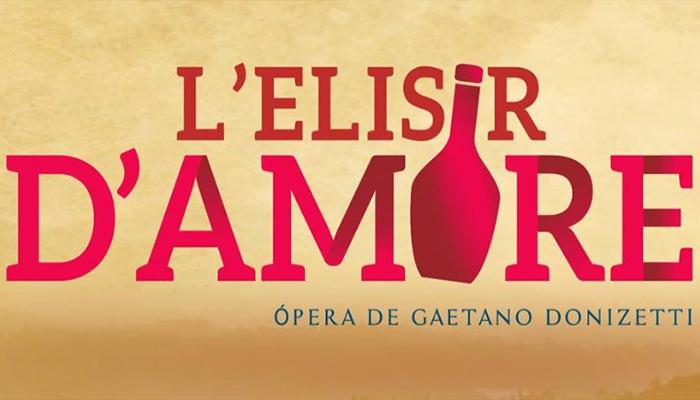 L'ELISIR D'AMORE se presentará en el Teatro Nacional