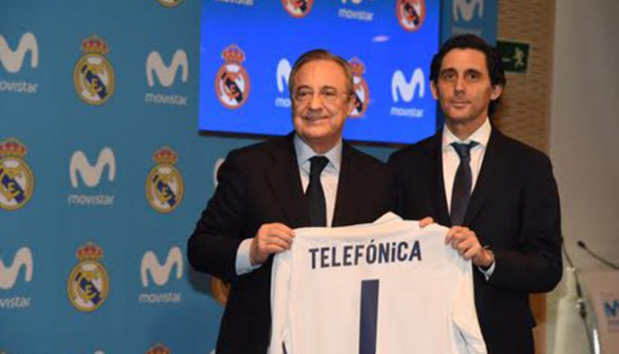 "Movistar se convierte en ""Connecting Partner"" del Real Madrid"