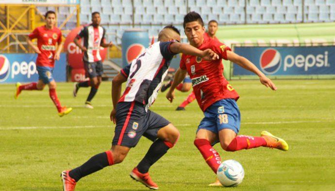 Resultados Liga Nacional de Guatemala Jornada 19, Clausura 2017