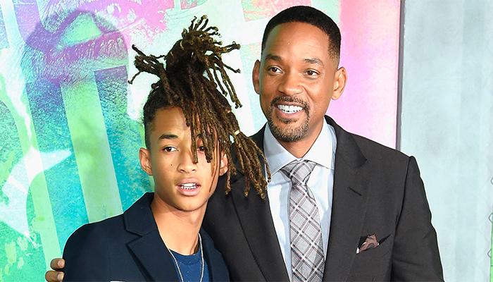 Will Smith le corta el cabello a su hijo Jaden