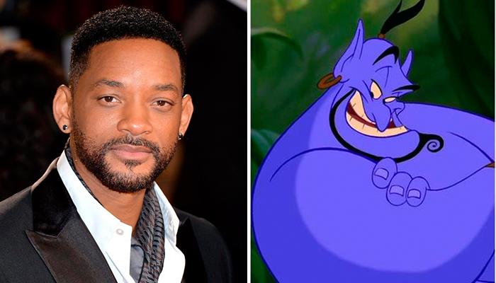 """Will Smith podría ser el genio en el Remake de """"Aladdin"""""""