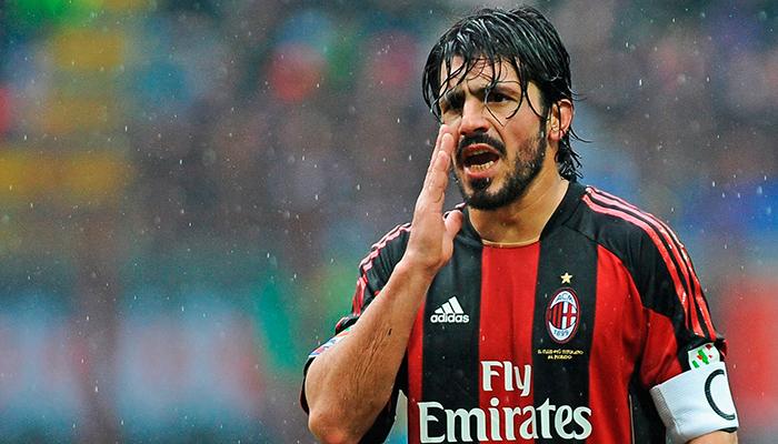 Gennaro Gattuso será el nuevo entrenador en el AC Milan