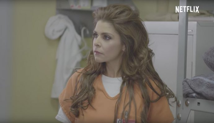"Video: Itatí Cantoral hace su regreso a ""Orange is the New Black"""