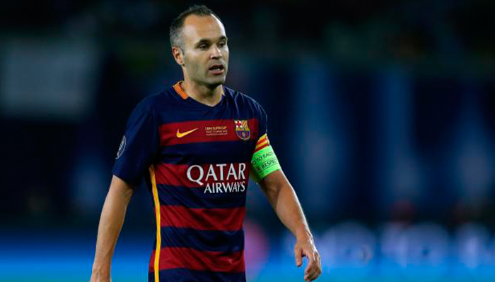 Alerta en el FC Barcelona tras fuertes declaraciones de Andrés Iniesta