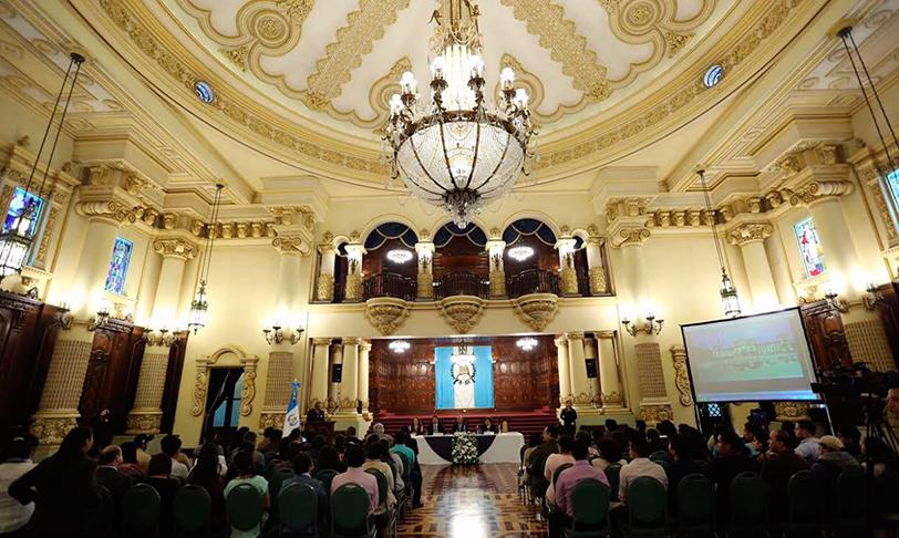 Feilo Sylvania donó la solución lumínica al Palacio Nacional